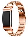 Noir Rouge Rose Dore Argente Style Moderne Bracelet Sport Pour Fitbit Regarder 10mm