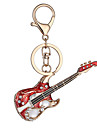 Europe And The United States New Realistic Guitar Key Chain Key Chain Bag Car Key Pendant Valentine\'s Day Birthday Gift Factory Direct Sales