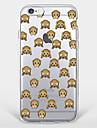 Pour Motif Coque Coque Arriere Coque Animal Flexible TPU AppleiPhone 7 Plus / iPhone 7 / iPhone 6s Plus/6 Plus / iPhone 6s/6 / iPhone
