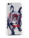 Happy Glasses Dog Pattern Hard Cover for iPhone 6 iPhone Cases