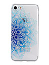 Case For Apple iPhone X iPhone 8 iPhone 5 Case iPhone 6 iPhone 7 Pattern Embossed Back Cover Flower Soft TPU for iPhone X iPhone 8 Plus
