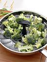 Cuiseur vapeur legumes 1PC Multifonction / Meilleure qualite / Haute qualite / Gadget de cuisine creatif Ustensiles de cuisine Acier inoxydable