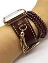 Watch Band For Apple Watch 3 Classic Buckle Genuine Leather Replacement Band with Pendant Tassel
