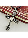 Men\'s Cross Titanium Steel Religious Fashion Personalized Jewelry For Daily Casual