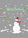 Paisagem Animais Natal Adesivos de Parede Autocolantes de Avioes para Parede Autocolantes de Parede Decorativos Decoracao para casa
