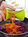 Kitchen Filar Multi-function Cutting Wire Device Spiral Cone Rotating Shred 7*13cm