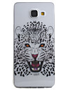 For Samsung Galaxy A5 A3 (2016) Case Cover Cheetah Pattern High Permeability Painting TPU Material Phone Case