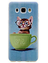 For Samsung Galaxy J710 J510 Kitten Pattern TPU High Purity Translucent Soft Phone Case G530 G360 One7 One5 J3