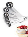 May Fifteenth 6 Stainless Steel Measuring Spoon Cup Set Hight Quality