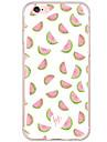 Pour iPhone X iPhone 8 iPhone 7 iPhone 6 Coque iPhone 5 Etuis coque Antichoc Motif Coque Arriere Coque Fruit Dur Polycarbonate pour Apple