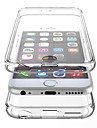 PC-sided Transparent Plastic Lid Down Hard Shell Phone Shell Suitable for iPhone 6s 6 Plus
