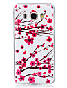 Case For Samsung Galaxy J7(2016) J5(2016) Glow in the Dark IMD Pattern Back Cover Flower Soft TPU for J7 (2016) J7 J5 (2016) J5 J3 (2016)