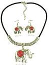 Ожерелье / серьги Мода Euramerican Акрил Сплав Слон 1 ожерелье 1 пара сережек Для Свадьба Повседневные 1 набор Свадебные подарки