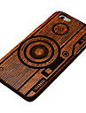Pear Wood Camera Hard Back Cover for iPhone 6/6S iPhone Cases