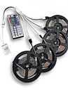 20M(4*5M) 3528 RGB 1200LED Flexible Strip Light No-waterproof DC 12V with 44Key IR Remote Controller Kit
