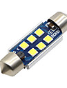 SO.K 39mm / 31mm / T11 모터사이클 전구 3W SMD 5730 400lm LED