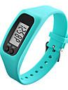 Pánské Dámské Sportovní hodinky Náramkové hodinky Digitální hodinky Digitální Pryž Černá / Bílá / Modrá Krokoměry LCD Cool Digitální Červená Zelená Modrá / Barevná