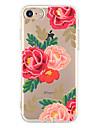 Coque Pour Apple iPhone 6 iPhone 7 Plus iPhone 7 Ultrafine Motif Coque Fleur Flexible TPU pour iPhone 7 Plus iPhone 7 iPhone 6s Plus