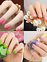 Nail Polish UV Gel  12ml 1pcs Glitters Color Changing UV Top Coat Gel Classic Shimmering Glitter & Sparkle Light Neon & Bright Soak off