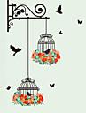 Animaux Mode Botanique Stickers muraux Autocollants avion Autocollants muraux decoratifs, Vinyle Decoration d\'interieur Calque Mural Mur