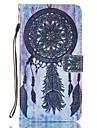 """Для Бумажник для карт со стендом Флип Кейс для Чехол Кейс для Рисунок """"Ловец снов"""" Твердый Искусственная кожа для LGLG K8 LG K7 LG K4 LG"""