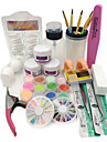 1set Nail Art Kit Til Fingernegl Tånegl Negle kunst Manicure Pedicure Chic & Moderne / Trendy