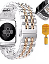 Bracelet de Montre  pour Apple Watch Series 3 / 2 / 1 Apple papillon Boucle Acier Inoxydable Sangle de Poignet