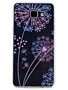 Case For Samsung Galaxy A5(2017) / A3(2017) Transparent / Pattern Back Cover Dandelion Soft TPU for A3(2017) / A5(2017) / A7(2017)