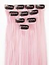 Neitsi Классика Искусственные волосы 18 дюймы Наращивание волос На клипсе Жен. Повседневные