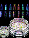 1bottle Manucure De oration strass Perles Maquillage cosmetique Nail Art Design
