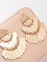 여성 매달려 귀걸이 보석류 댕글링 스타일 빈티지 Euramerican 유럽의 구리 보석류 보석류 제품 파티 일상 캐쥬얼