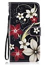 For Samsung Galaxy  S8 Plus S8 Card Holder Wallet with Stand Flip Pattern Case Full Body Case Flower Hard PU Leather S7 edge S7 S6 S5