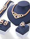 Femme Ensemble de bijoux - euroamericains Comprendre Or Pour Quotidien