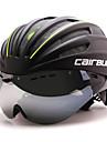 BCAIRBULL® Bike HelmetUnisex Full-Face Bike helmet 28 Vents Cycling Road Cycling One Size PC / EPS White Visor Adjustable