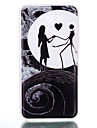 Кейс для Назначение SSamsung Galaxy J7 (2016) J5 (2016) Сияние в темноте Матовое Полупрозрачный С узором Задняя крышка С сердцем Мягкий