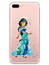 For Apple iPhone 7 7 Plus 6S 6 Plus Case Cover Cartoon Character Pattern TPU Material Phone Case