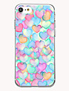 For Case Cover Ultra-thin Pattern Back Cover Case Heart Soft TPU for AppleiPhone 7 Plus iPhone 7 iPhone 6s Plus iPhone 6 Plus iPhone 6s