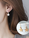 Women\'s Star Drop Earrings - Basic / Cute Style Gold / Silver Geometric Earrings For Party / Daily / Casual