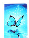 Case For Apple Wallet / Card Holder / with Stand Full Body Cases Butterfly Hard PU Leather for iPad 4/3/2 / Apple