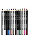 12Pcs/Set Colorful Eyeliner Pencil Set Lasting Eye Liner Pen Waterproof Professional Eye Pencil Brand Makeup Set
