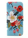 Case For Samsung Galaxy S7 edge S7 Card Holder Wallet with Stand Flip Full Body Cases Flower Hard PU Leather for S7 edge S7 S6 S5