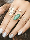 Women\'s Midi Rings Unique Design Costume Bohemian British Alloy Jewelry For Party Halloween Daily Casual