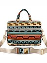 "Tela Stile boho Griglia / Patterns Plaid Geometrica Borse Borsa a tracolla 15 ""Laptop"
