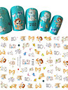 1pcs Fashion Nail Art 3D Sticker Lovely Cartoon Cat Design Lovely Decoration For Nail Beauty F202
