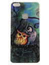 For Huawei P8 Lite (2017) P10 Case Cover Owl Pattern HD Painted TPU Material IMD Process Phone Case P10 Lite Honor 6X Y5 II Y6 II