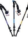 3 Нордические трости 135cm (53 дюйма) Демпфирование Откидной С возможностью регулировки Легкий вес Алюминиевый сплав 7075Отдых и туризм