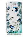 For LG G6 Case Cover Butterfly Love Flowers Pattern Painted Relief High Penetration TPU Material Phone Case