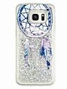 Maska Pentru Samsung Galaxy S7 edge S7 Scurgere Lichid Model Capac Spate Prinzător de vise Moale TPU pentru S7 edge S7 S6 edge S6 S5