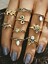 10pcs/set Midi Rings Jewelry Unique Design Fashion Vintage Alloy Jewelry For Wedding Party Daily Casual 1set 1pc