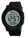 Men\'s Sport Watch Digital Watch Chinese Digital Silicone Band Black